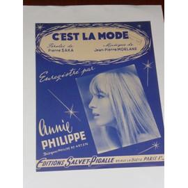C'EST LA MODE Annie philippe