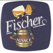 Sous Bock Fischer Alsace