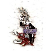 Pin's Bugs Bunny Fauteuil Cin�ma
