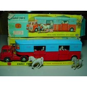 Corgi Toys An 70 Ref 1130 Chipperfield Circus Camion Bedford + Semi Transport De Chevaux+ Bte