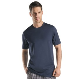 Hanro Night & Day Haut � Manches Courtes Homme - Noir 075430-1162 Small