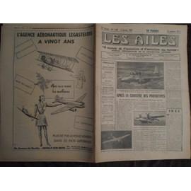 Aviation - Les Ailes 1301 - 1951 - Morane Saulnier Ms700 - Hydravion Scan 30 - Helicoptere - Parachute - Boisavia B80 1301
