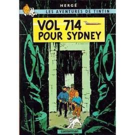 Tintin Vol 714 Pour Sydney Couverture Souple, 8 Pages De Bonus 22