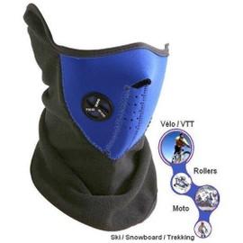 Masque Facial / Protection Visage (N�opr�ne) Et Cou + Oreilles (Polaire) - Id�ale Pour : Ski / Snowboard / V�lo / Moto / Roller / Trekking / Randonn�e / Airsoft / Etc...