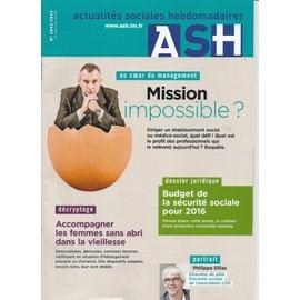 Actualit�s Sociales Hebdomadaires - Ash 2942