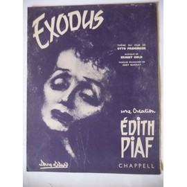 EXODUS Edith Piaf Otto Preminger
