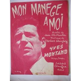 MON MANEGE A MOI  Yves Montand