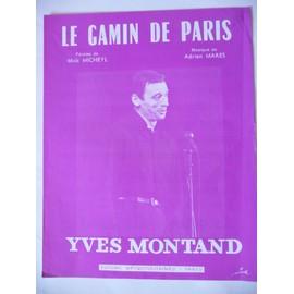 LE GAMIN DE PARIS Yves Montand