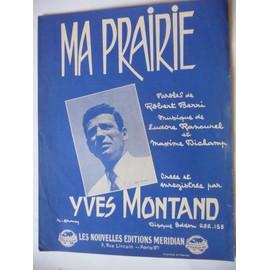 MA PRAIRIE Yves Montand