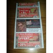 Ticket De Caisse Du Magasin Auchan De 2006 Avec Johnny Hallyday( Optic 2000)