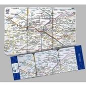 Metro De Paris Sous Verres Plan Du M�tro