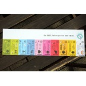 Collector Tickets De M�tro Ratp - Cartes Bonne Ann�e 2007
