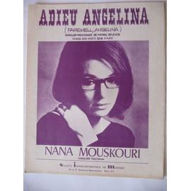 ADIEU ANGELINA Nana Mouskouri