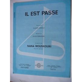IL EST PASSE Nana Mouskouri