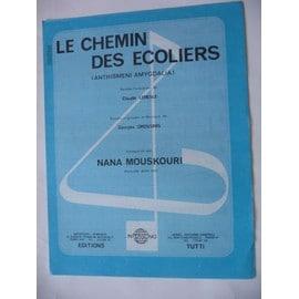 LE CHEMIN DES ECOLIERS Nana Mouskouri
