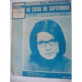 AU COEUR DE SEPTEMBRE Nana Mouskouri