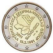2 Euro Comm�morative De Slovaquie De 2011