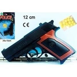 Pistolet + 18 Billes - 15 Cm