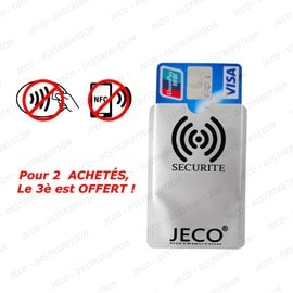 1 Protection Carte Bancaire Anti Nfc - Rfid