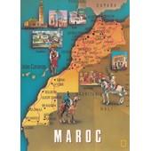 Carte G�ographique Du Maroc.