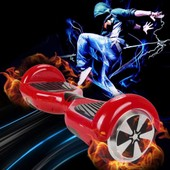 Hoverboard Skateboard Smart Balance Wheel Monocycle Electrique Auto Equilibrage Lg Batterie Rouge 6.5
