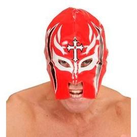 Masque De Catcheur Rouge