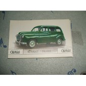 Lot 5 Cartes C�moi : Renault Prairie
