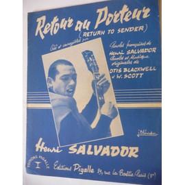RETOUR AU PORTEUR Henri Salvador