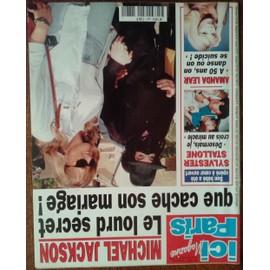 Ici Paris N� 2681 Michael Jackson Sylvester Stallone