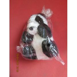 Ours Panda Noir Et Blanc Total