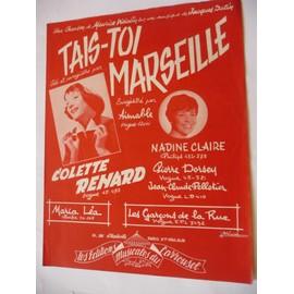 TAIS-TOI MARSEILLE Colette Renard
