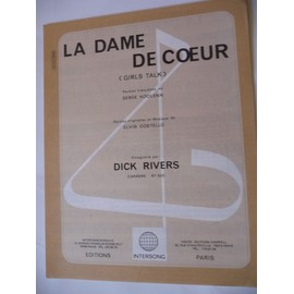 LA DAME DE COEUR Dick Rivers