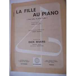 LA FILLE AU PIANO Dick Rivers