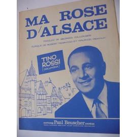 MA ROSE D'ALSACE Tino Rossi