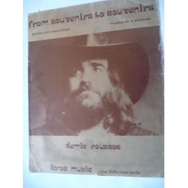 FROM SOUVENIRS TO SOUVENIRS Demis Roussos