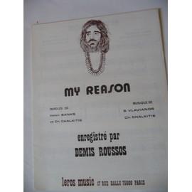 MY REASON Demis Roussos