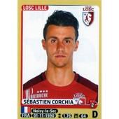 Image Panini Foot 2015 - 2016 Sebastien Corchia N� 149 Losc Lille