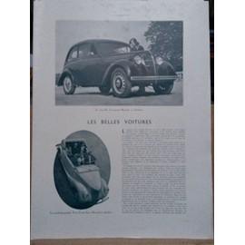 Les Belles Voitures (1930 Voir D�tail Ci Dessous)