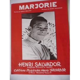 MARJORIE Henri Salvador