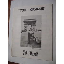 TOUT CRAQUE Joël Daydé