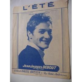 L'ETE Jean-Jacques DEBOUT