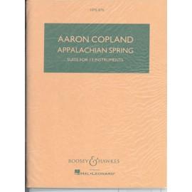 Appalachian Spring Suite (Ballet bor Martha) version for 13 instruments