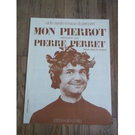 mon pierrot, partition par pierre perret