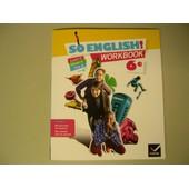 So English Workbook 6e de Ledru-Germain