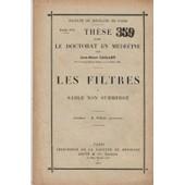 Les Filtres � Sable Non Submerg� de Jean Henri Caillet