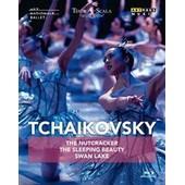 Tchaikovsky: The Nutcracker / The Sleeping Beauty / Swan Lake (Blu-Ray)