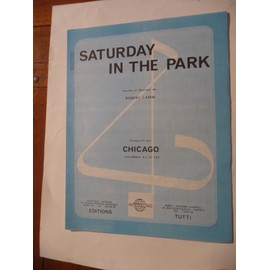 SATURDAY IN THE PARK chicago