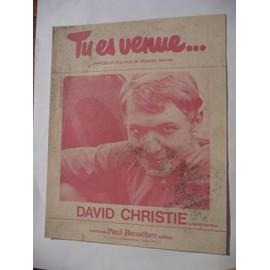TU ES VENUE David Christie