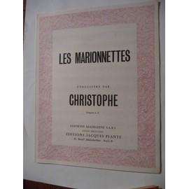 LES MARIONNETTES Christophe