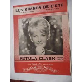 LES CHANTS DE L'ETE Pétula Clark